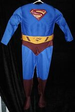 Superman Costume S Halloween One Piece Man of Steel 8 Superhero Kids Youth