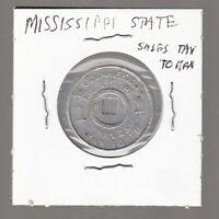 [48162] UNDATED MISSISSIPPI STATE SALES TAX TOKEN