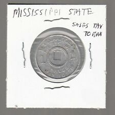 [48162] UNDATED MISSISSIPPI STATE SALES TAX TOKEN