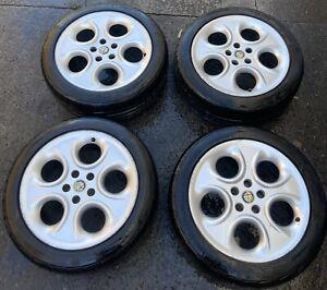Alfa Romeo 166 Horseshoe Style Alloy Wheel Set 60629500