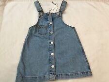 Girls Jean Jumper Dress from Zara, Size 6, NWT