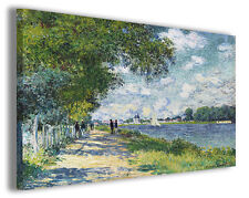 Quadro moderno Claude Monet vol I stampa su tela canvas pittori famosi