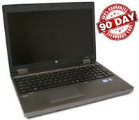 "HP ProBook 6570b 15.6"" laptop, WEBCAM, Core i5-3230m @2.6ghz, 8GB, 320GB, Win 7"