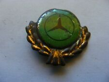 MERCEDES BENZ  Car:Very Old Pin Badge,probably.1950s..tinplate.tinlitho.used.(G)