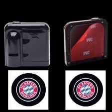 2x Wireless LED Auto Tür Licht Laser Projektions Emblem Fußball Club FC Logo