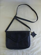 Ladies Messenger Bag - Debenhams, black, leather, small, 8.5 x 6 x 1 - 3175