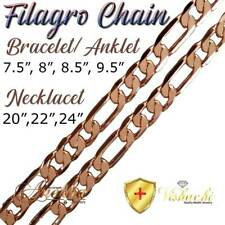 SOLID COPPER FILAGRO CHAIN LINK BRACELET/ANKLET ARTHRITIS THERAPY WOMEN PC06B