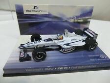 BMW Williams F1  FW 21  1:43 Ralf Schumacher original BMW MINICHAMPS NEU in OVP