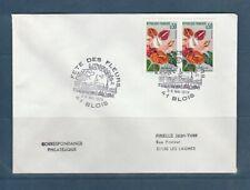 FRd enveloppe Fleurs  fete des  fleurs  41 Blois  1979