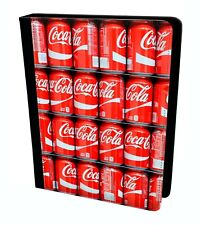 Coca Cola Small Cans Pallet Pack Bottle Pattern Flip Leather Case For iPad