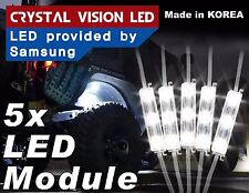 CrystalVision LED 4X4/OFF ROAD/JEEP Under Body Lights Super Bright White (5 PCS)