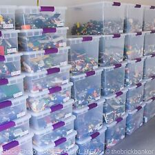 LEGO Approx 25lb Random WHOLESALE Lot@$6.50/Pound-Assorted Bulk Brick Piece Huge