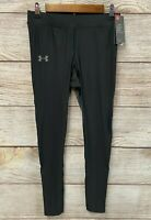 Under Armour Tights Mens Size Large Qualifier Heatgear Glare Tights Pants New