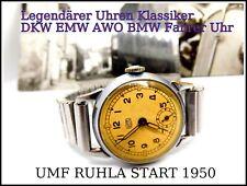 UMF Ruhla Start v.Thiel Start M 54 1950  Armbanduhr Oldtimer BMW EMW AWO  Design