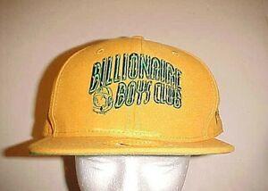 Billionaire Boys Club BBC New Era Adult Unisex Orange Green Fitted Cap 7 5/8 New
