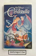 Cinderella,Aschenputtel ,Walt Disney,Black Diamond,Big Label,Vhs,Rar,engl,selten