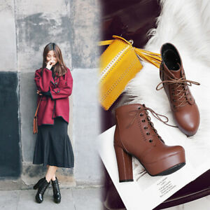 European Style Roman Thick Heel Women's Suede Buckle Mid-Length Boots Oversized