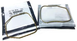Set of 2 Genuine OEM Kohler 24 153 30-S VALVE COVER O-RING Replaces 24 153 28-S