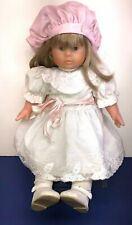 18� Vinyl Corolle Limited 68/1000 French Doll 1987 Blonde W/ Lace Dress Refabert