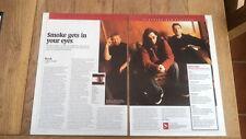 RUSH  'Vapor Trails album review' 2002 UK ARTICLE / clipping