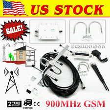 LCD 900MHz GSM Cell Phone Signal Booster Amplifier Mobile Repeater Home OFFICE