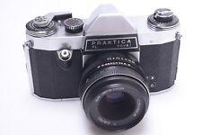 PENTACON, PRAKTICA PL NOVA I 35MM Q1 CAMERA W/ M42 ZEISS JENA TESSAR 50MM 2.8 T