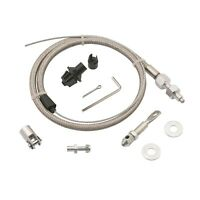 Mr. Gasket 5657 Steel Braided Throttle Cable Kit - Universal - Easy Installation