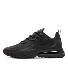 Nike Air Max 270 React SNEAKERS (triple Black) US Mens Sz Us10 UK 9