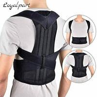 Adjustable Back Support Low Shoulder Brace Belt Posture Corrector For Men Women
