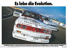 BMW E30 M3 BMW Motorsport DTM DEKRA 1989 Large poster print