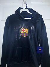 FC Barcelona soccer Hooded Sweatshirt Barça fútbol camisa talla niño NEW Youth L