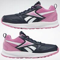 Women's Girls Reebok Almotio 5.0 Trainers Shoes New Boxed UK 5.5 EU 38 navy pink