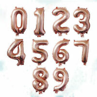 "LETTER Foil Number Balloons Air Baloons  32"" inch Happy Birthday Number age year"