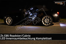 LED Innenraumbeleuchtung SET für BMW Z4 E85 Roadster/Cabrio - Cool-White