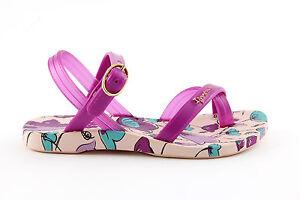 Sandalo da bambina rosa Ipanema junior gomma casual mare moda