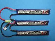 TURNIGY NANO-TECH 1200mAh 3S 11.1V 15-25C LIPO BATTERY AIRSOFT MINI TAMIYA MOLEX