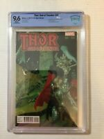 Thor God of Thunder #25 Guera Variant CBCS 9.6 1st Cameo of Jane Foster as Thor