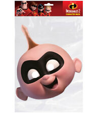 Jack-Jack Parr Official Incredibles 2 Single 2D Card Party Face Mask