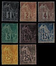 Colonies Générales : 9 ALPHEE DUBOIS, Neufs * = Cote 104 €/ Lot Timbres France