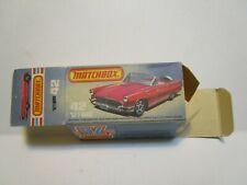 ORIGINAL 1981 MATCHBOX NO.42 '57  T-BIRD EMPTY BOX *EXCELLENT*