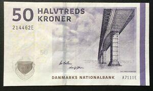 DENMARK (462E), 2011, 50 Kroner, P65d, VF+