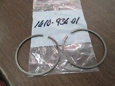 NOS Vintage Husqvarna Husky Motorcycle MX Piston Ring Set Pair 16 10 936 01 QTY2