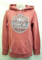 SUPERDRY Womens Hoodie Jumper S Small Pink Cotton