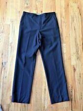 ETRO Men's Flat Front Pants Size: 33 X 30.5, AMAZING WEBBED FABRIC, Italy