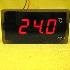 Temperature Meter Red LED 12V dc Digital Thermometer Detector + 2m  Probe Sensor