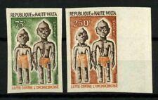 Burkina Faso 1976 Mi. 623-624 Neuf * 100% non dentelé