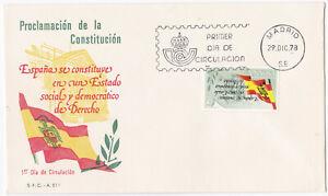 Spain FDC 1978 – Michel nº 2399 (Inverted stamp)