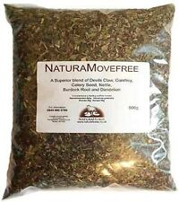 Natura Movefree 900g herbal blend for horses mobility arthritis, joints