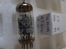 EF800 TELEFUNKEN <> E  EF80  USED OLD STOCK VALVE TUBE 1PC J17C