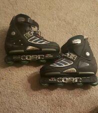 Corr ATA-700 Agressive Inline Skates ABEC3  Mens 9 Trick Rollerblades Quick-Skid